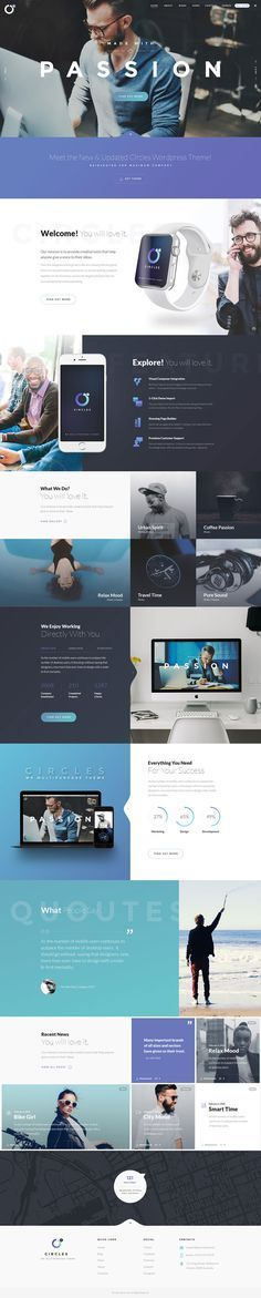 Creative But Newest Website Designs for Inspiration more on html5themes.org