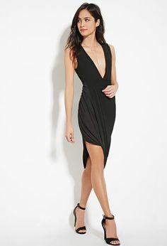Asymmetrical Wrap Dress | Forever 21 - 2000182427