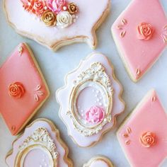 Nectar and Stone Tea biscuits Icing on biscuits Afternoon tea Iced Cookies, Cake Cookies, Sugar Cookies, Cupcakes, Cookie Icing, Cookie Bars, Nectar And Stone, Eat Me Drink Me, Pastel Party