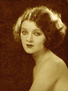 Myrna Loy - 1927 - Photo by Edwin Bower Hesser
