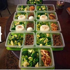 What I've learned is the meal prep is the key to healthy eating I'll be starting…