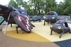 Amazing playground by danish company Monstrum