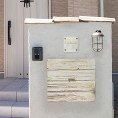 ポスト,郵便受け,郵便ポスト,埋め込み型,メールボックス,シャビー,エイジング加工