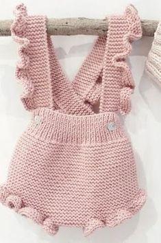 Knitted Baby Onesie Models - Happy Ornament Home .- Gestrickte Baby Strampler Modelle – fröhliche Ornament Home – kostenlose Geburt… Knitted Baby Onesie Models – Happy Ornament Home – Free Birthday … - Knitted Baby Clothes, Knitted Romper, Crochet Clothes, Knitted Baby Outfits, Crochet Outfits For Babies, Ruffle Romper, Baby Knits, Knitting For Kids, Baby Knitting Patterns