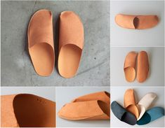 ONE-PIECE SLIPPERS CAMEL / toe to knee