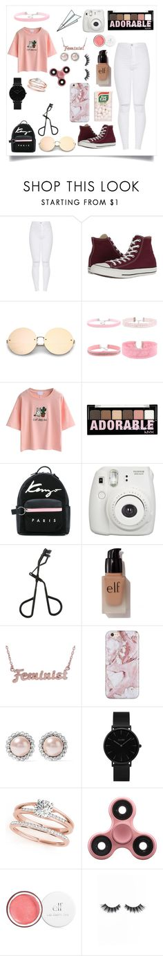 """Everything"" by leilani-875 ❤ liked on Polyvore featuring Converse, WithChic, NYX, Kenzo, Fujifilm, Topshop, Plane, e.l.f., me you and Miu Miu"