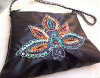 How to Embroider a Leather Bag