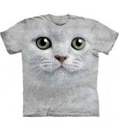 Green Eyes Face T Shirt - By The Mountain