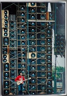 20 Amazing Vintage Photos of the Grateful Dead's Wall of Sound, 1974 ~ vintage everyday Woodstock, Wall Of Sound, Dead And Company, The Jam Band, Rockn Roll, Forever Grateful, Grateful Dead, Cool Guitar, Music Stuff