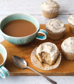 Brown-Butter Espresso Cupcakes: the perfect excuse to eat cake for breakfast.