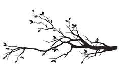 tree branch silhouette - Google Search