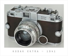 Classic Cameras Friday! Kodak Ektra – 1941 | CesarDPhoto.com ~ Finding Light in Every Dark Place.