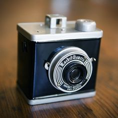 Rocket cameras...  The point and shoot of Medium format cameras of the 1950's. They came out of Japan too... I have such an obsession over old cameras... oml X.X http://minivideocam.com/best-point-and-shoot-camera/
