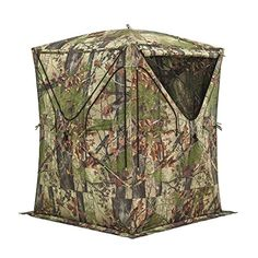 Hunting- Barronett Big Mike Hunting Blind, Backwoods Camo *** More info could be found at the image url.