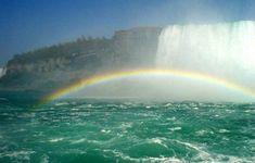 waterfalls+and+rainbows | rainbow waterfalls