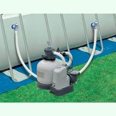 Intex Pool Upgraded Hard Plumb Pool Pump Sand Filter