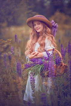 """Me in the lavender fields on the grounds of our French estate, """"Château Demoiselle"""" (The Damsel's Castle)"""