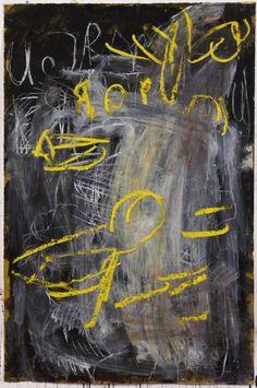Aida Tomescu Cyr, 2009 ink, pastel & oil pigment on Velin Arches 134.0 x 92.0 cm