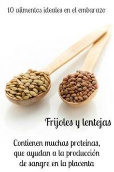 Propiedades y beneficios de los Frijoles y las Lentejas.