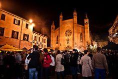 The White Truffle Festival in Alba, Italy - October Baccanale del Tartufo e Borgo si Rievoca - I Menù