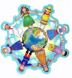 WebQuest: Five Themes of Geography Kids Around The World, Around The Worlds, Five Themes Of Geography, Sell Your Books, School Clipart, Cultural Diversity, Apropiación Cultural, Agenda Cultural, World Crafts