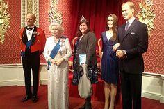 Nicky Kriel in Royal company with her Shona Easton handbag.