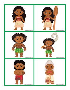 Moana Memory Game Free Printable for Kids Moana Themed Party, Moana Party, Card Games For Kids, Memory Games For Kids, Imprimibles Halloween, Bolo Moana, Disney Drawings Sketches, Disney Princesses And Princes, Disney Games
