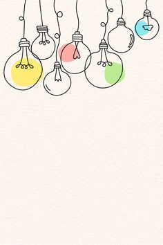 Creative light bulb doodle on beige background vector free .- Creative light bulb doodle on beige background vector free image by marinemynt - Bullet Journal Banner, Bullet Journal Writing, Bullet Journal Aesthetic, Powerpoint Background Design, Vector Background, Doodle Background, Free Background Images, Creative Background, Beige Background