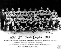 louis eagles hockey And 12 other NHL teams that are no longer in the League Nhl, Back Row, Today In History, New York Rangers, Eagles, St Louis, October 15, Sports Teams, Hockey Players