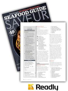 Suggestion about Saveur April 2014 page 84