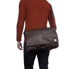 Szereted a lezserebb eleganciát, Knomo férfi üzleti táskák Kobe, Messenger Bag, Satchel, Laptop, Products, Fashion, Moda, Fashion Styles, Fashion Illustrations