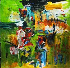 Rafiy Okefolahan (Benin, b. 1979).  Les Disciples, 2011 © courtesy Galerie Lazarew