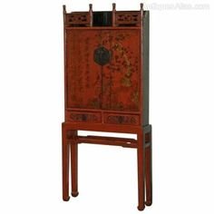 C.1760 Shanxi Province Chinese Lacquer Cabinet - Antiques Atlas Types Of Furniture, Art Furniture, Wimbledon, China, Antique Chinese Furniture, Laque, Antique Paint, Cabinet Makers, Vintage Country