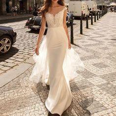 Lace Wedding, Wedding Dresses, Bridesmaid Dresses, Flower Girl Dresses, V Neck, Fashion, Bride Dresses, Bridesmade Dresses, Moda