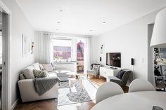 bostadervitec - 55 kvadrat Condo Living, Living Room, Home Projects, Home Decor, Blog, Design, Decoration Home, Room Decor, Condominium