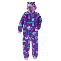 944a20108b Komar Kids - Komar Kids Girls  Hooded Owl Blanket Sleeper - Walmart.com
