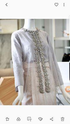 order contact my whatsapp number 7874133176 Kebaya Modern Hijab, Dress Brokat Modern, Kebaya Hijab, Kebaya Muslim, Kebaya Lace, Kebaya Dress, Dress Pesta, Outfit Essentials, Hijab Fashion Inspiration