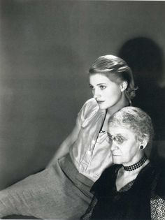 Lee Miller and her mother