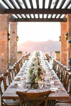 Couture Events: Kristin & Matt's Malibu Rocky Oaks Wedding Reception