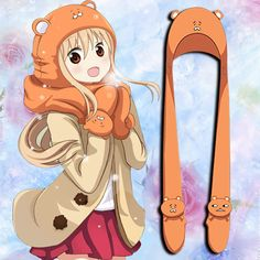 [Himouto! Umaru-chan] Umaru Hoodie Neckerchief with Gloves CP164726