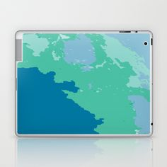 Caribbean Sea Laptop & iPad Skin by Rosie Brown - $25.00