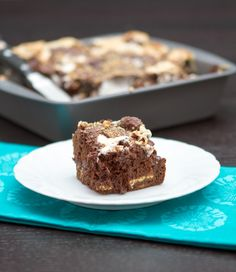 Skinnified S'mores Brownies