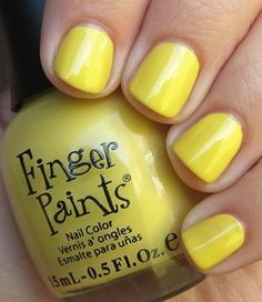 Finger Paints Yellow Bikini