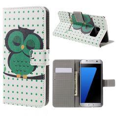 Housse Samsung Galaxy S7 edge Hibou Endormi