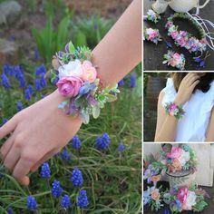 květinový náramek svatba Boho, Jewelry, Jewellery Making, Jewelery, Jewlery, Jewels, Jewerly, Bohemian, Bohemia