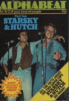 STARSKY & HUTCH - ALPHABEAT POSTER MAGAZINE 1978