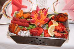 "Mix grillades crustacés ""Angeethi"" (75011)"