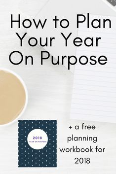 We don't set hard rules and goals, but we do make a plan for how we want our life to look for the year - from parenting to hobbies, this workbook is an easy way to cover it all. #lifeonpurpose
