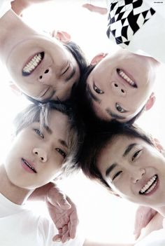 Chanyeol, Kyungsoo, Suho & Sehun.