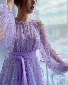 Purple Evening Dress, Evening Dresses, Prom Dresses, Rose Gown, Beaded Gown, Handmade Dresses, Dream Dress, Pretty Dresses, Designer Dresses